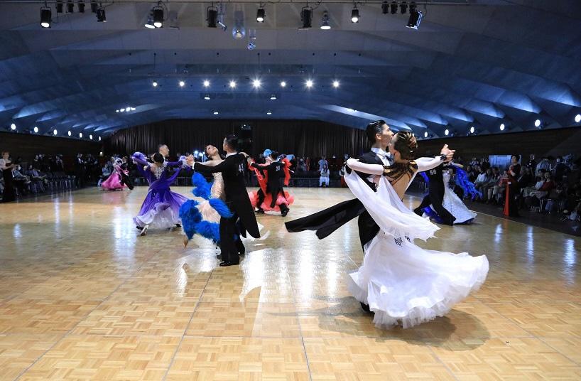 社交ダンス競技会「全関東ダンス選手権大会」