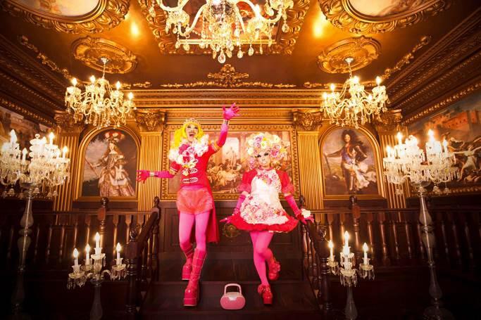 レ・ロマネスクのダンス縁日@横浜ベイサイドステージ