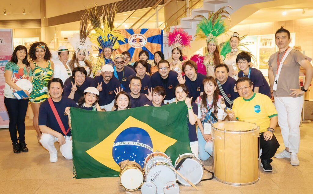 Viva! Imigração japonesa オープン・サンバ・エンサイオ with ブロコ城南